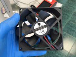 Вентилятор 92х92х25 мм, 24В, 0,18A, подш. шариковый, 3000 об/мин